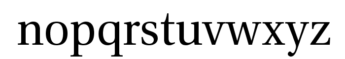 VenturisADF-Regular Font LOWERCASE
