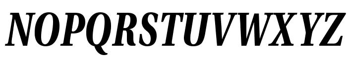 VenturisADFCd-BoldItalic Font UPPERCASE