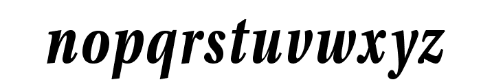 VenturisADFCd-BoldItalic Font LOWERCASE