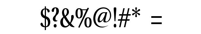VenturisADFCd-Regular Font OTHER CHARS