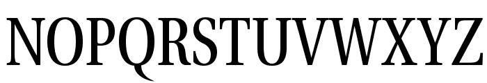 VenturisADFCd-Regular Font UPPERCASE