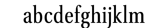 VenturisADFCd-Regular Font LOWERCASE