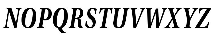 VenturisADFCdStyle-BoldItalic Font UPPERCASE