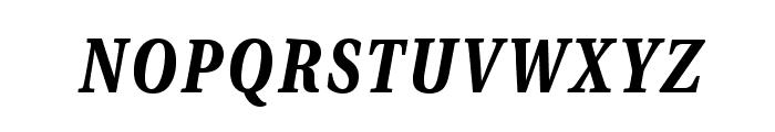 VenturisADFCdStyle-BoldItalic Font LOWERCASE
