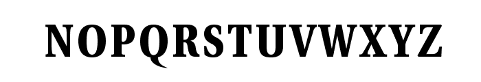 VenturisADFCdStyle-Bold Font LOWERCASE