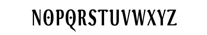 VenturisADFGothTitling Font LOWERCASE