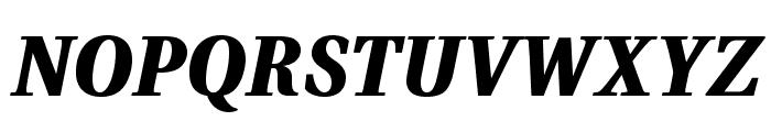 VenturisADFHeavy-Italic Font UPPERCASE