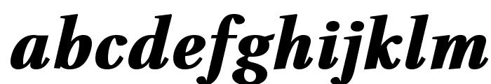 VenturisADFHeavy-Italic Font LOWERCASE