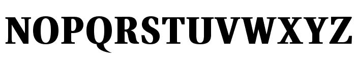 VenturisADFHeavy Font UPPERCASE