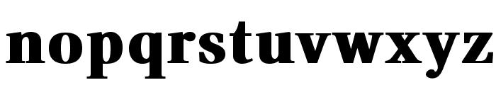 VenturisADFHeavy Font LOWERCASE