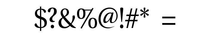 VenturisADFMath-Regular Font OTHER CHARS