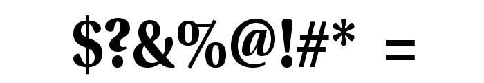 VenturisADFNo2-Bold Font OTHER CHARS