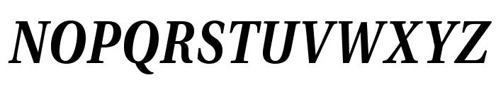 VenturisADFNo2-BoldItalic Font UPPERCASE