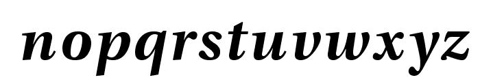 VenturisADFNo2-BoldItalic Font LOWERCASE
