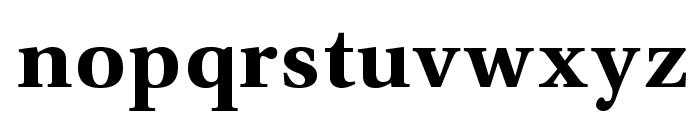 VenturisADFNo2-Bold Font LOWERCASE