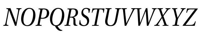 VenturisADFNo2-Italic Font UPPERCASE