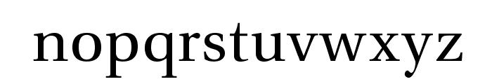 VenturisADFNo2-Regular Font LOWERCASE