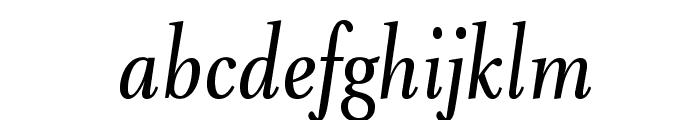 VenturisADFNo2Cd-Italic Font LOWERCASE