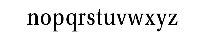 VenturisADFNo2Cd-Regular Font LOWERCASE