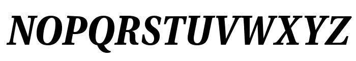 VenturisADFNo2Med-BoldItalic Font UPPERCASE