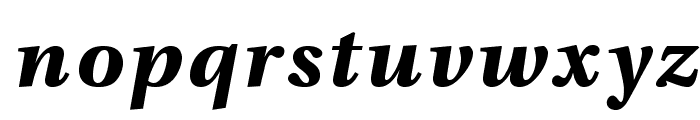 VenturisADFNo2Med-BoldItalic Font LOWERCASE
