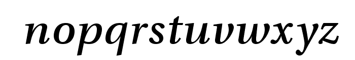 VenturisADFNo2Med-Italic Font LOWERCASE