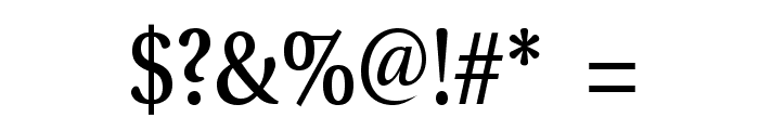 VenturisADFNo2Med-Regular Font OTHER CHARS