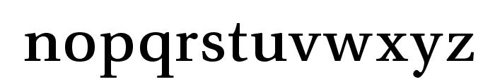 VenturisADFNo2Med-Regular Font LOWERCASE