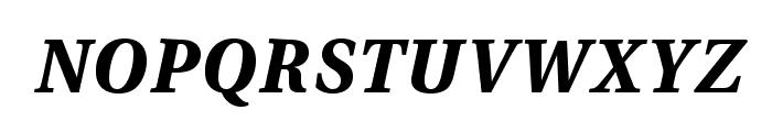 VenturisADFStyle-BoldItalic Font LOWERCASE