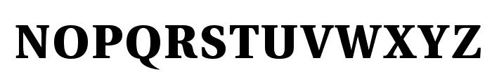 VenturisADFStyle-Bold Font LOWERCASE