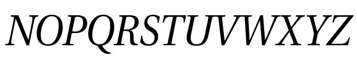 VenturisADFStyle-Italic Font UPPERCASE