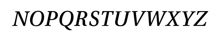 VenturisADFStyle-Italic Font LOWERCASE