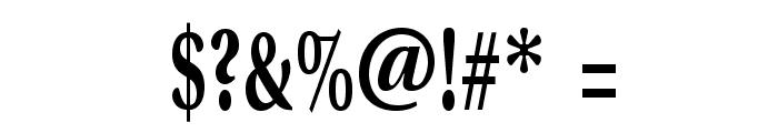 VenturisADFTitlingNo1 Font OTHER CHARS