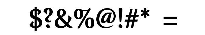 VenturisOldADF-Bold Font OTHER CHARS