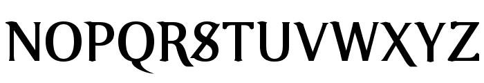 VenturisOldADF-Bold Font UPPERCASE