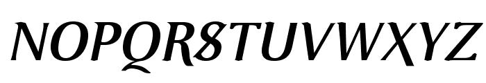 VenturisOldADF-BoldItalic Font UPPERCASE
