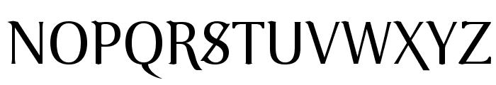 VenturisOldADF-Regular Font UPPERCASE