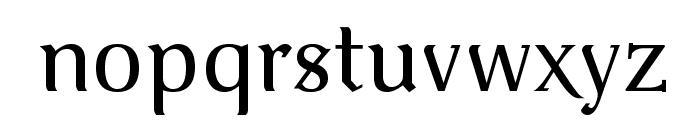 VenturisOldADF-Regular Font LOWERCASE
