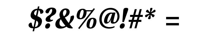 VenturisSansADF-BoldItalic Font OTHER CHARS