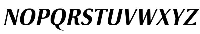 VenturisSansADF-BoldItalic Font UPPERCASE