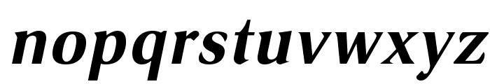 VenturisSansADF-BoldItalic Font LOWERCASE