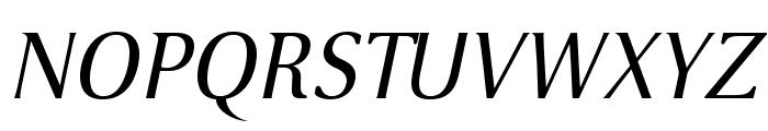 VenturisSansADF-Italic Font UPPERCASE