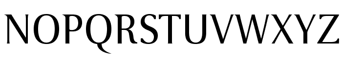 VenturisSansADF-Regular Font UPPERCASE