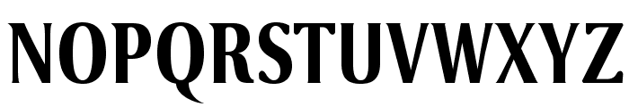 VenturisSansADFCd-Bold Font UPPERCASE
