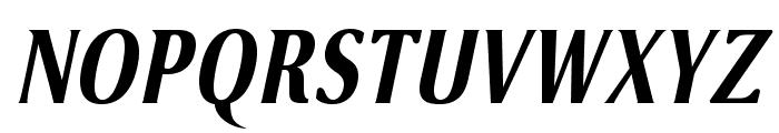VenturisSansADFCd-BoldItalic Font UPPERCASE