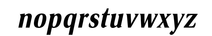 VenturisSansADFCd-BoldItalic Font LOWERCASE