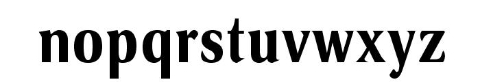 VenturisSansADFCd-Bold Font LOWERCASE