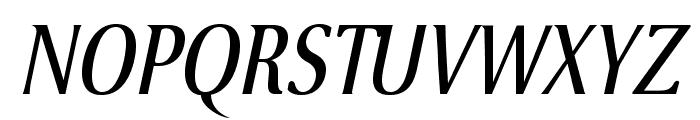 VenturisSansADFCd-Italic Font UPPERCASE