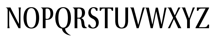 VenturisSansADFCd-Regular Font UPPERCASE