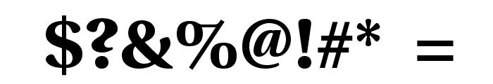 VenturisSansADFEx-Bold Font OTHER CHARS